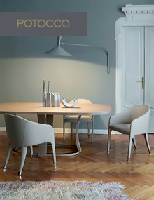 Potocco Miura Chair fully upholstered