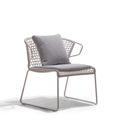 Potocco Vela Outdoor Lounge Chair