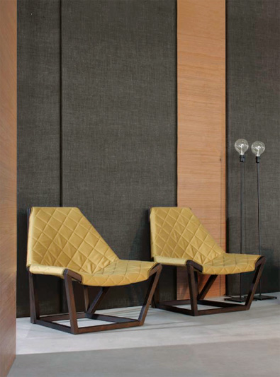 Potocco Tenso Lounge Chairs