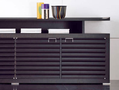 Media Cabinet Louvered - ShopWiki