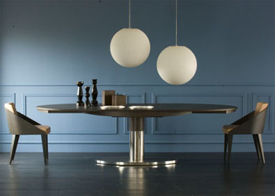 Potocco Dival Oval Extension Table