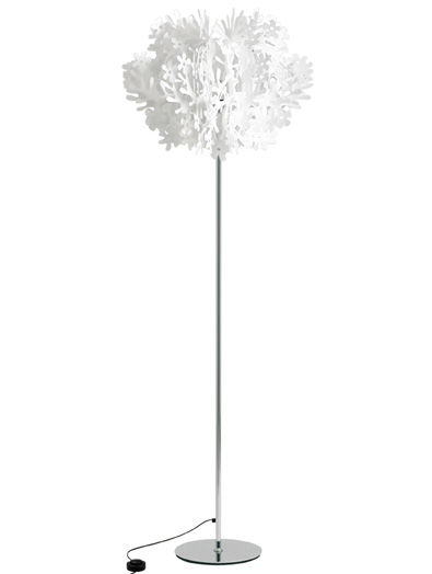 Slamp Fiorella Floor Lamp white