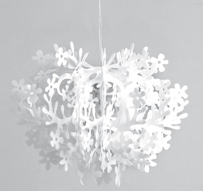 Slamp Fiorella Suspended White