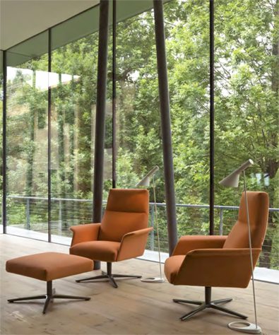 Verzelloni Nilson Lounge Chair