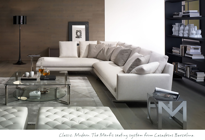 Casadesus Barcelona, Menfis Sectional, Modern Furniture Vancouver